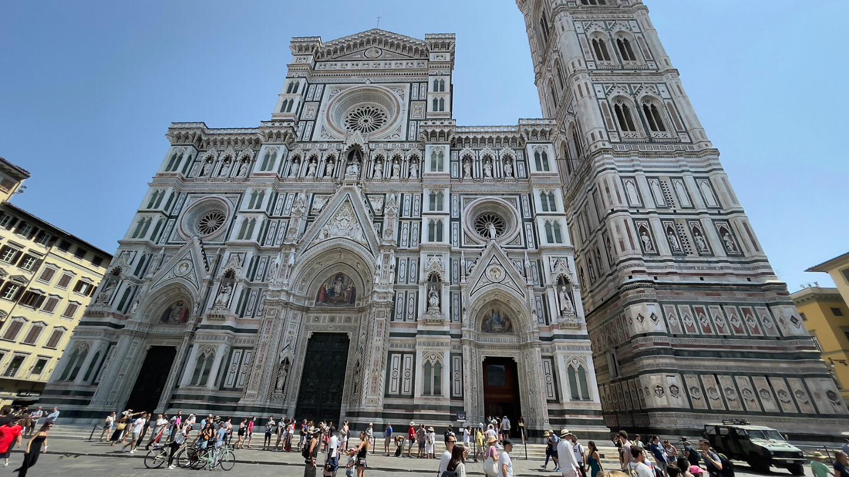 Nog eens de kathedraal in Firenze.