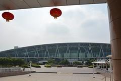 Luchthaven Guangzhou vanaf het Pullman hotel