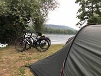 Onze eerste plekje deze vakantie aan de Rijn