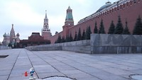 Smurf at red square