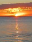 Zonsondergang in Hervey Bay