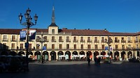 Plaza Mayor,  Léon