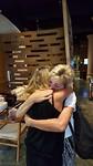 Afscheid nemen van zus