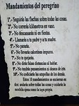 De 10 geboden van een pelgrim