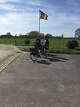 Wij verlaten belgie en strijken zodadelijk de vlag
