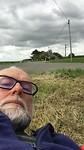 Onderweg, met een stokbroodje op een sappig grasland