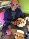 Het middagmaal met zijn verorberaar.