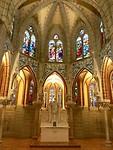 Stukje interieur van bisschopspaleis door Gaudi
