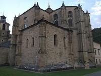 Vermoeide kerk in Villafranca.