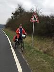 Gemotoriseerd verkeer verboden vanwege de paddentrek; lucky us
