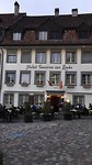Hotel Zur Linde in Bischofszell. Hier lig ik te knorren vannacht.
