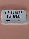 De Romeinse weg via Reggio; mijn route voor morgen