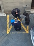 Praten op straat: alleen in de vakken!
