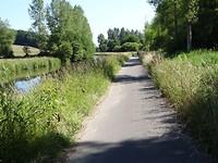 Fietspad langs de Mark, van Breda naar Galder
