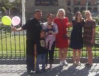 Maxwell en zijn familie