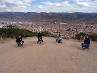 Sacsayhuaman uitzicht