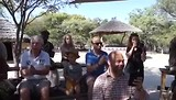 Dansen bij het Nyala Cultural Village