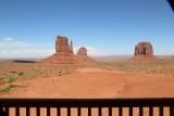 Uitzicht van op ons terras