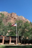 Zion Lodge.