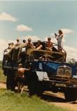 rondje kenia met vrienden en familie in 1982