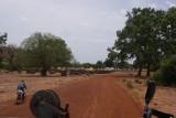 een dorpje onderweg naar Bamako