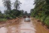 dertig jaar geleden was de weg een stuk beter in Benin