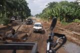Nigeria effe geen asfalt