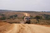 de piste van tussen Boko en Luozi