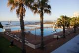 gratis zwemmen met uitzicht op zee
