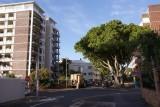 kamperen in Kaapstad, tussen de winkelstraat en de boulevard