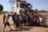héél veel kinderen in Mozambique