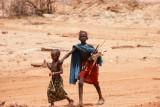 bang voor de blanken in Noord-Kenia
