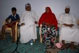 Ibrahim met vrouw, zoon Mohammed en kleinzoon