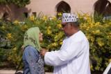 met Ibrahim bij de moskee in Muscat