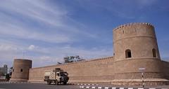 één van de vele forten