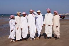 Emirati op bezoek in Oman