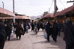 de markt in Kerman