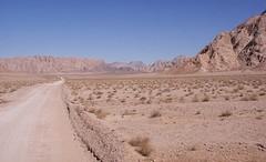 woestijn ten noorden va Yazd