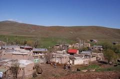 dorp in het dal