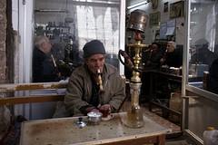 in de bazaar van Tabriz