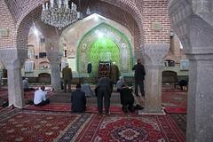 oude moskee in Orumiyeh