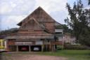 Suriname in het dorp Moengo