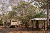 op camping El Gordo in Bonito (Brazilie)