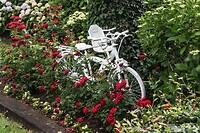 Geverfde fiets