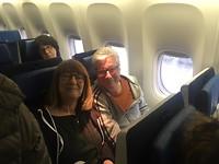 Vlucht naar Kaapstad