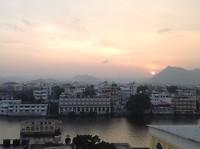 Udaipur sunset.