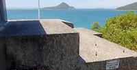 Bunker met uitzicht bij Nelson Bay