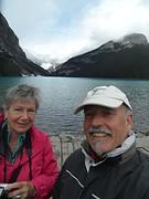Bezoekers van Lake Louise