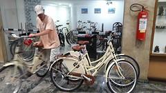 ... fietsen buiten zetten ...