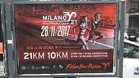 ... halve marathon van Milaan, hele van NYC ...